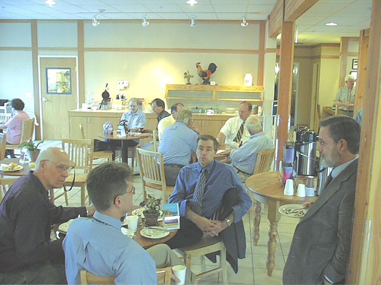 Image03.jpg - Fellowship during a break